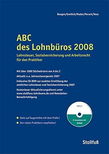 9783083178088: ABC des Lohnb�ros 2008, m. CD-ROM