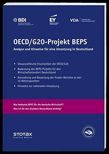 9783083643005: OECD/G20-Projekt BEPS: Analyse und Empfehlungen für eine Umsetzung in Deutschland