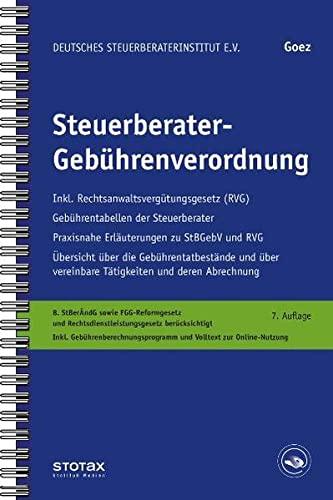 Steuerberatergebührenverordnung - Christoph Goez