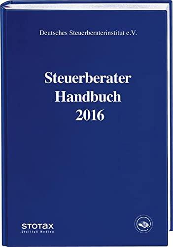 Steuerberater Handbuch 2016