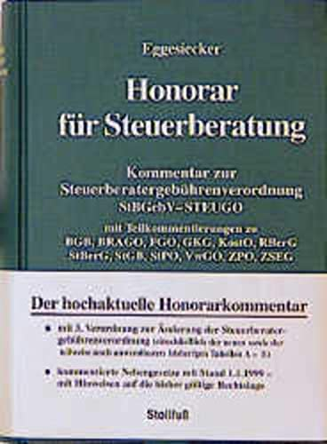 9783083750024: Honorar für Steuerberatung