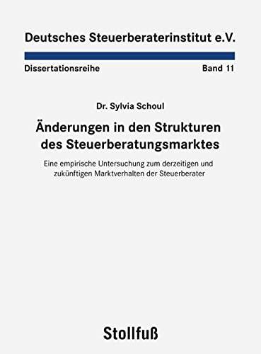 Änderungen in den Strukturen des Steuerberatungsmarktes: Sylvia Schoul