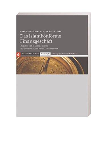 Das islamkonforme Finanzgeschäft: Hans-Georg Ebert
