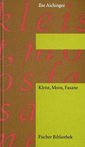 9783100005212: Kleist, Moos, Fasane