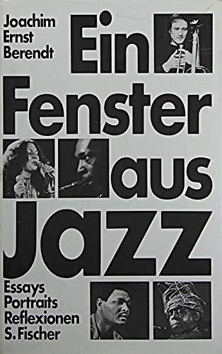 9783100038012: Ein Fenster aus Jazz: Essays, Portraits, Reflexionen (German Edition)