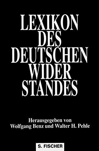 9783100057020: Lexikon des deutschen Widerstandes (German Edition)