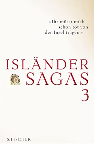 9783100076243: Isländersagas 3