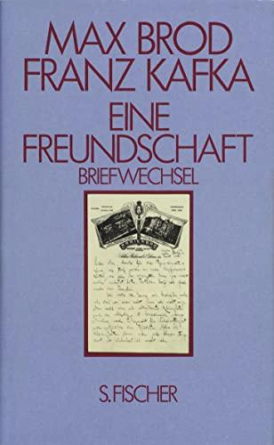 Eine Freundschaft, Bd.2, Briefwechsel: Max Brod