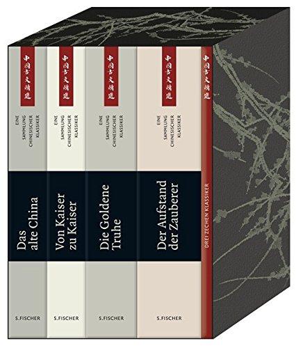 9783100102409: China-Bibliothek. 4 Bände: Kassette mit vier Bänden