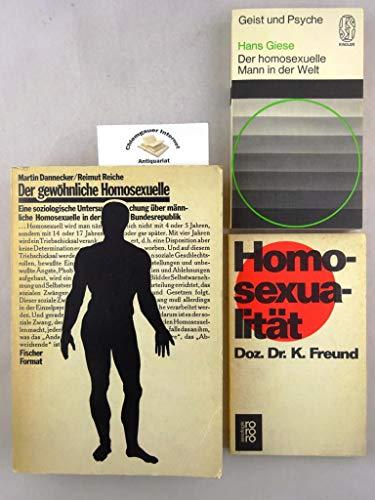 9783100148018: Der gewohnliche Homosexuelle: Eine soziolog. Untersuchung uber mannl. Homosexuelle in d. BRD (Fischer-Format) (German Edition)