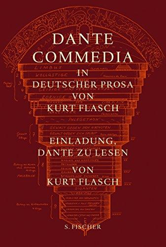 9783100153395: Commedia (Göttliche Komödie): I.Commedia. In deutscher Prosa von Kurt Flasch. II.Einladung, Dante zu lesen
