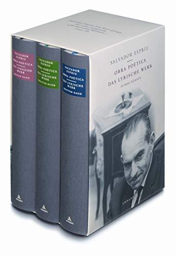9783100170231: Obra poètica. 3 Bände: Das lyrische Werk