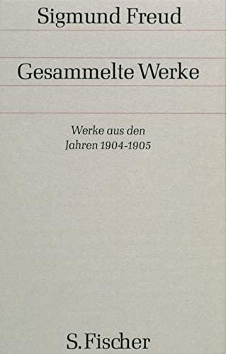 Werke aus den Jahren 1904-1905: Sigmund Freud