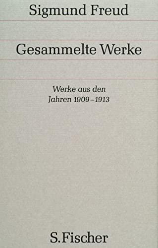 Gesammelte Werke, 17 Bde., 1 Reg.-Bd. u. 1 Nachtragsbd., Bd.8, Werke aus den Jahren 1909-1913 (9783100227096) by Sigmund Freud