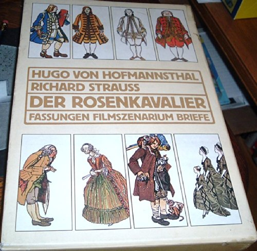 9783100315335: Hugo von Hofmannsthal, Richard Strauss Der Rosenkavalier Fassungen, Filmszenarium, Briefe.