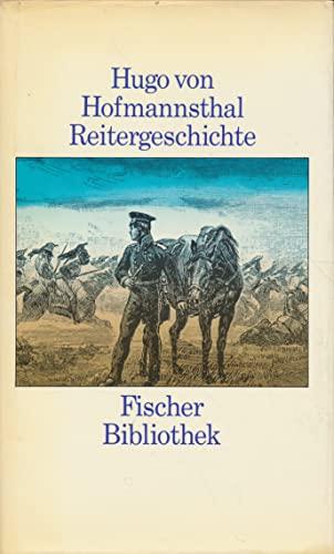 Reitergeschichte (German Edition): Hofmannsthal, Hugo Von