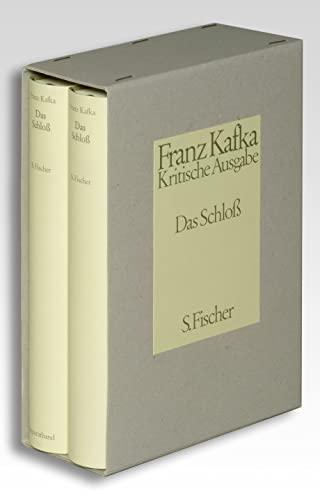 9783100381323: Das Schloß. Kritische Ausgabe: Text- und Apparatband. Schriften, Tagebücher, Briefe