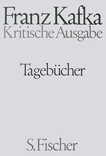 Tagebücher Kommentar: Franz Kafka