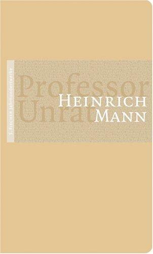 9783100478207: Professor Unrat oder Das Ende eines Tyrannen
