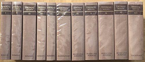 9783100481771: Gesammelte Werke, 13 Vols.