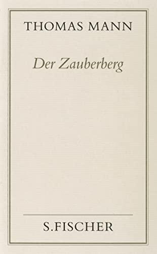 9783100482242: Gesammelte Werke in Einzelbänden. Frankfurter Ausgabe.: Der Zauberberg ( Frankfurter Ausgabe)