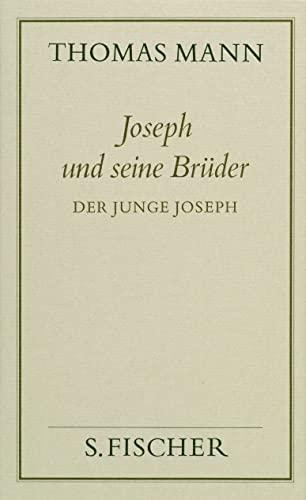 9783100482303: Joseph und seine Brüder, 4 Bde., Bd.2, Der junge Joseph