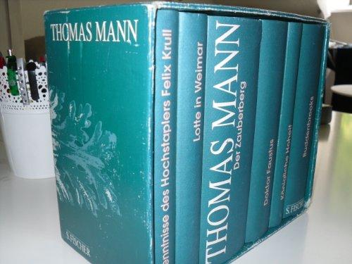 Ausgewählte Werke in 6 Bänden. Der Zauberberg.: Mann, Thomas: