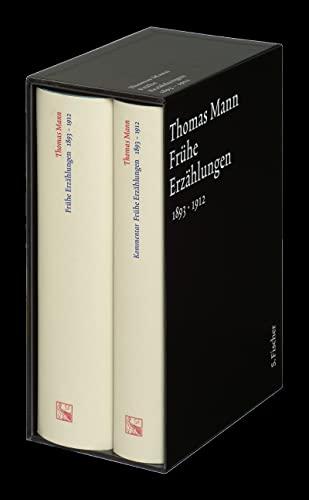 9783100483157: Frühe Erzählungen. Große kommentierte Frankfurter Ausgabe: (1893-1912) Textband / Kommentarband