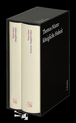9783100483218: Königliche Hoheit. Große kommentierte Frankfurter Ausgabe. 2 Bände