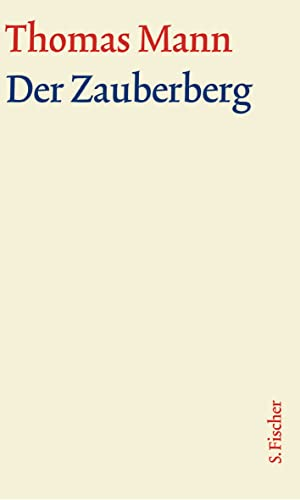 9783100483225: Der Zauberberg. Große kommentierte Frankfurter Ausgabe. Textband.