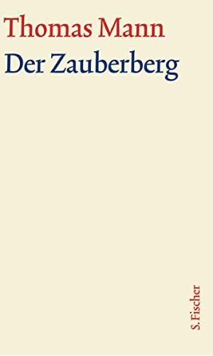 9783100483225: Der Zauberberg. Große kommentierte Frankfurter Ausgabe. Textband