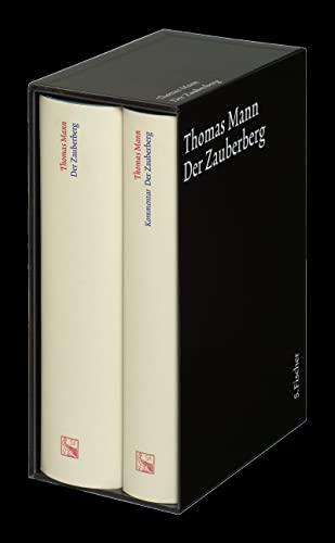 Der Zauberberg. Große kommentierte Frankfurter Ausgabe: Thomas Mann