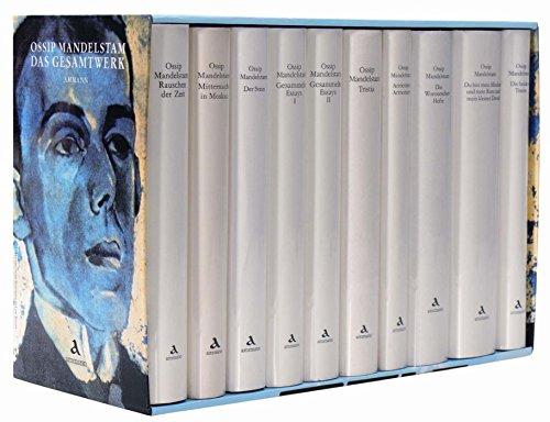 Das Gesamtwerk in Kassette. 10 Bände: Ossip Mandelstam