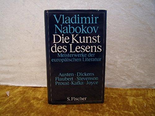 9783100515025: Die Kunst des Lesens I. Meisterwerke der europäischen Literatur von Vladimir Nabokov und Fredson Bowers von Fischer