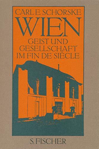 9783100736031: Wien. Geist und Gesellschaft im Fin de Siecle.