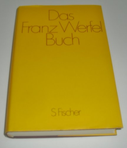 9783100910240: Das Franz Werfel Buch
