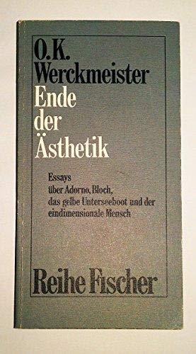 Ideologie und Kunst bei Marx u.a. Essays.: Werckmeister, O. K.