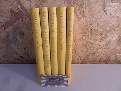 5 Bände - Woolf, Virginia