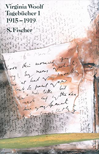 Virginia Woolf Gesammelte Werke Tagebücher 1-5 (1915-1919); (1920-1924); (1925-1930); (1931-1935); (1936-1941) - Reichert, Klaus [Hrsg.]