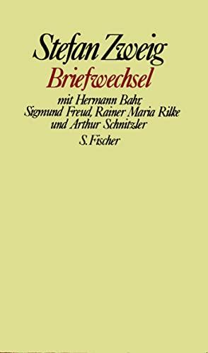 Briefwechsel mit Hermann Bahr, Sigmund Freud, Rainer: Zweig, Stefan