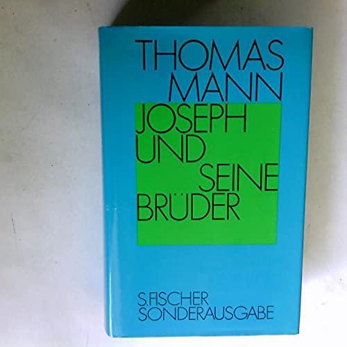9783103481044: Joseph und seine Brüder (German Edition)