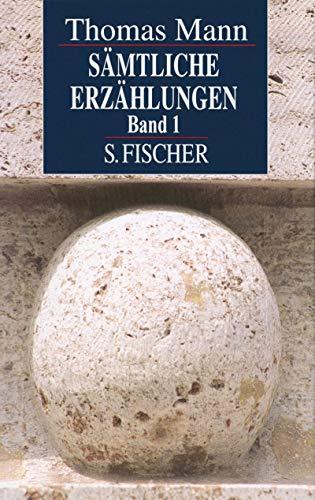 9783103481150: Sämtliche Erzählungen I. Sonderausgabe
