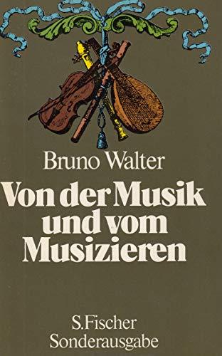 9783103905014: Von Der Musik Und Vom Musizieren