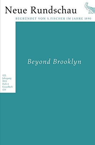 9783108090876: Neue Rundschau 2011/4: Beyond Brooklyn