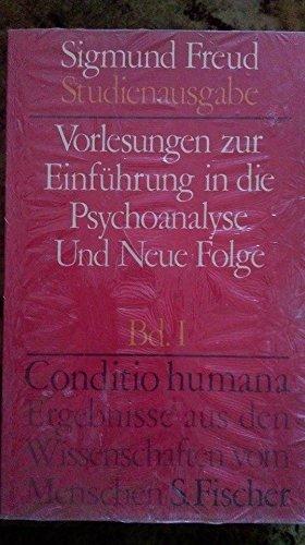 9783108227012: Vorlesungen zur Einführung in die Psychoanalyse und neue Folge Band 1