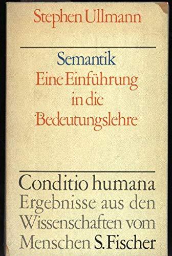 9783108829018: Semantik. Eine Einführung in die Bedeutungslehre