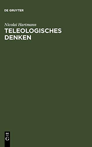 9783110001457: Teleologisches Denken (German Edition)