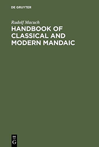 9783110002614: Handbook of Classical and Modern Mandaic