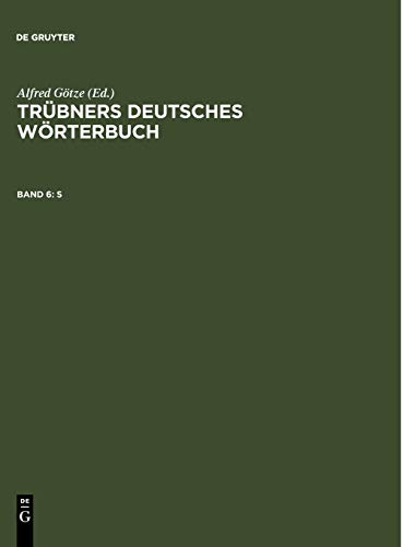 9783110003222: S (German Edition)