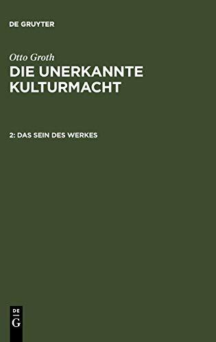 9783110008685: Das Sein des Werkes (German Edition)